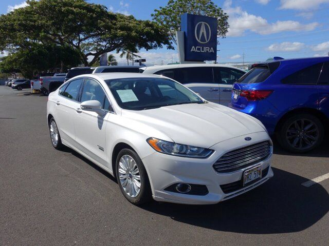 2016 Ford Fusion Energi 4dr Sdn SE Luxury Kahului HI
