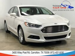 2016_Ford_Fusion Energi_SE LUXURY NAVIGATION LEATHER HEATED SEATS REAR CAMERA BLUETOOTH_ Carrollton TX