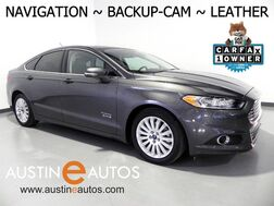 2016_Ford_Fusion Energi SE Luxury_*NAVIGATION, BACKUP-CAMERA, LEATHER, HEATED FRONT SEATS, BLUETOOTH PHONE & AUDIO_ Round Rock TX