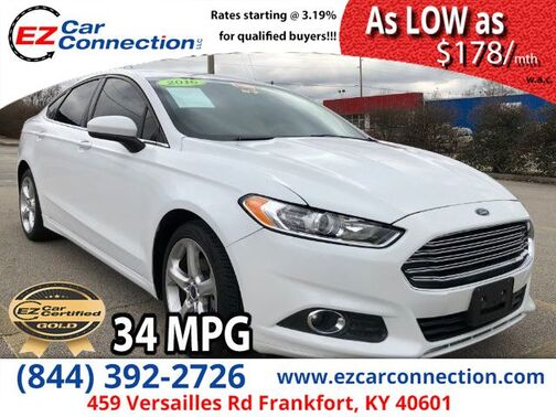 2016_Ford_Fusion_S_ Frankfort KY