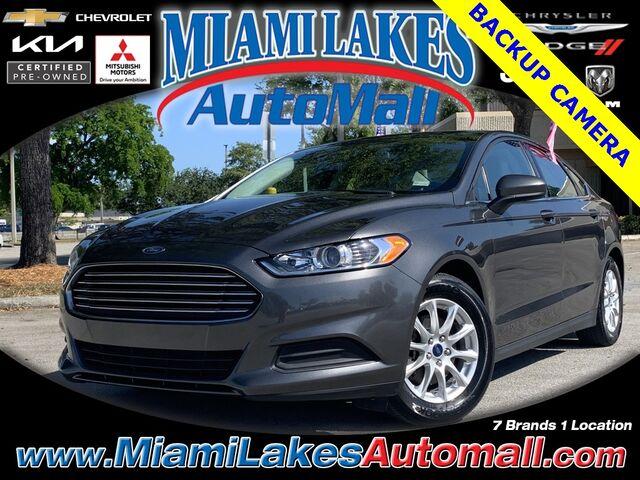 2016 Ford Fusion S Miami Lakes FL