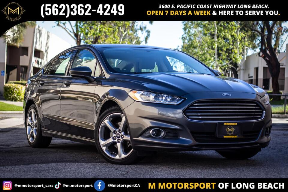 2016_Ford_Fusion_S Sedan 4D_ Long Beach CA