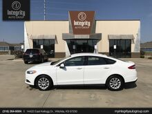 2016_Ford_Fusion_S_ Wichita KS