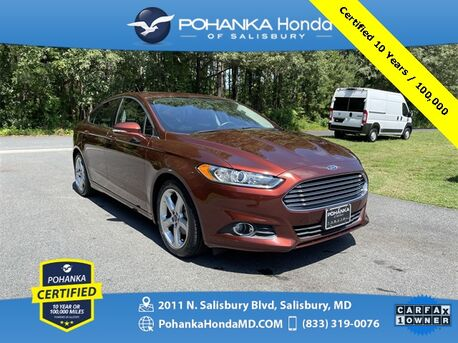 2016_Ford_Fusion_SE ** Pohanka Certified 10 Years / 100,000 **_ Salisbury MD
