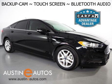 2016 Ford Fusion SE *BACKUP-CAMERA, COLOR TOUCH SCREEN, STEERING WHEEL CONTROLS, CRUISE CONTROL, ALLOY WHEELS, BLUETOOTH PHONE & AUDIO Round Rock TX