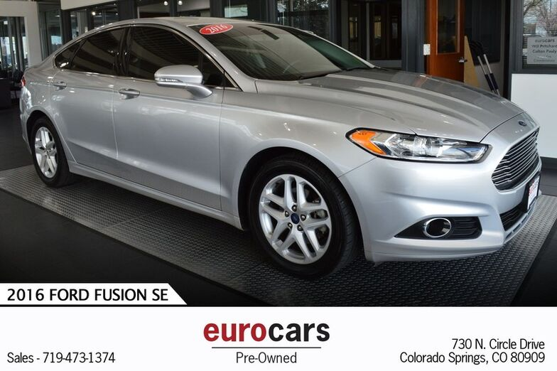 2016 Ford Fusion SE Colorado Springs CO