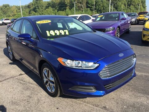 2016_Ford_Fusion_SE_ Evansville IN