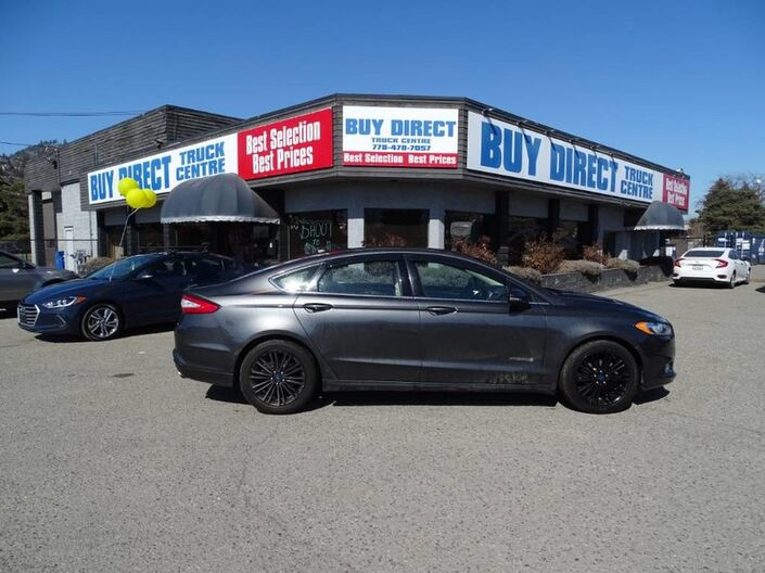2016 Ford Fusion SE Hybrid Dual Climate Control, Back-up Camera Penticton BC
