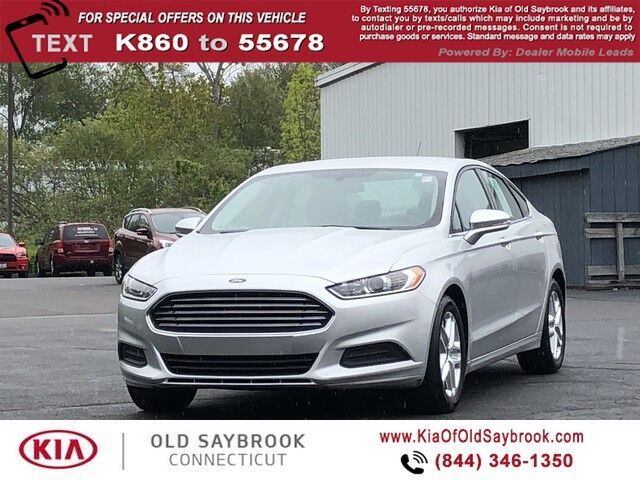 2016 Ford Fusion SE Old Saybrook CT