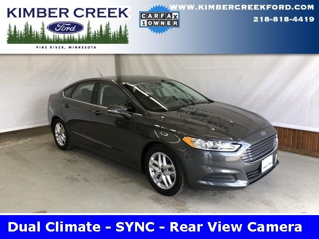 2016 Ford Fusion SE Pine River MN