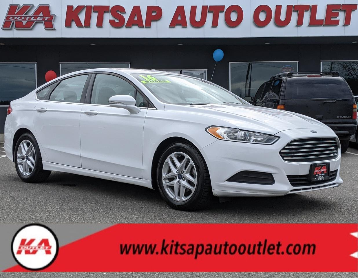 2016 Ford Fusion SE Sedan 4D Port Orchard WA
