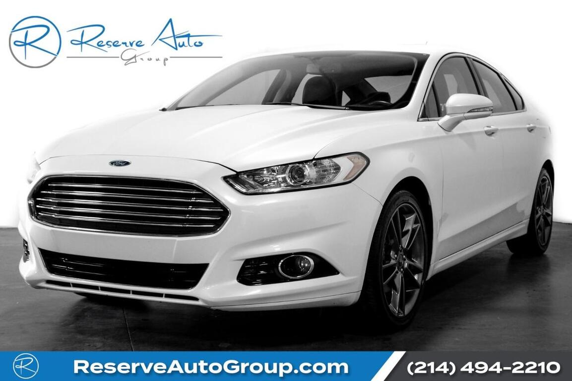 2016 Ford Fusion Titanium Navigation Moonroof Htd/Cooled Seats The Colony TX