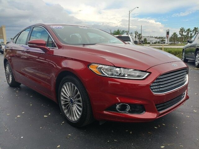 2016_Ford_Fusion_Titanium_ Fort Myers FL
