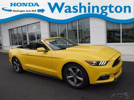 2016 Ford Mustang 2dr Conv V6 Washington PA