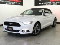 Ford Mustang 3.7L V6 CONVERTIBLE REAR CAMERA KEYLESS GO REMOTE ENGINE START POWER SEAT B 2016
