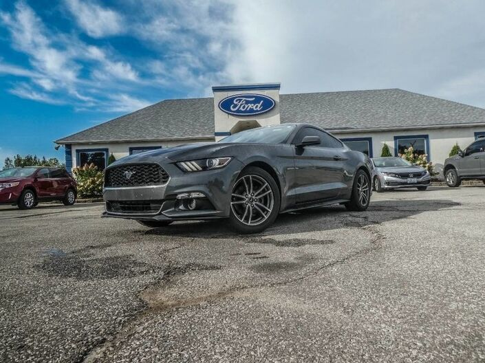 2016 Ford Mustang EcoBoost Premium- SALE PENDING - LEATHER- NAVIGATION- BLUETOOTH- BACKUP CAM LOA Essex ON