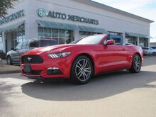 2016_Ford_Mustang_EcoBoost Premium Convertible LEATHER, BACK UP CAMERA COOLING AND HEATING SEATS,BLUETOOTH AUDIO_ Plano TX