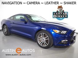 2016_Ford_Mustang EcoBoost Premium_*NAVIGATION, BACKUP-CAMERA, TOUCH SCREEN, LEATHER, CLIMATE SEATS, PUSH BUTTON START, SHAKER AUDIO, BLUETOOTH_ Round Rock TX