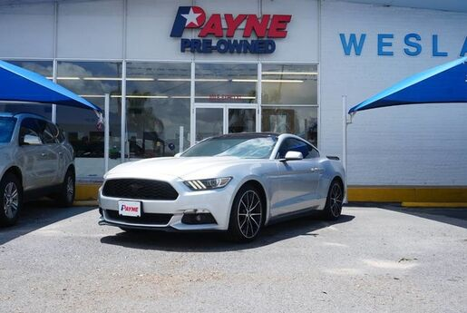 2016 Ford Mustang EcoBoost Premium Weslaco TX
