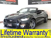 Ford Mustang GT PREMIUM CONVERTIBLE REAR CAMERA HEATED COOLED LEATHER SEATS SMART PHONE 2016