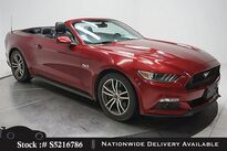 Ford Mustang GT Premium Convertible CAM,CLMT STS,HID LIGHTS 2016