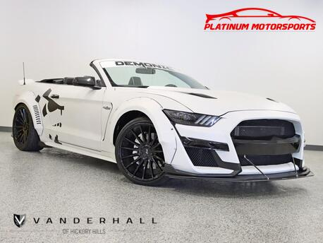 2016_Ford_Mustang_GT Premium Supercharged Vinyl Wrap Carbon Fiber_ Hickory Hills IL