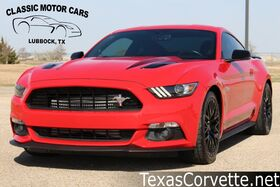 2016_Ford_Mustang_GT Premium Twin Turbo_ Lubbock TX