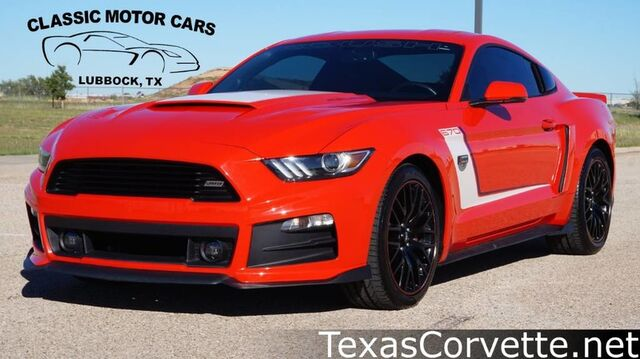 2016 Ford Mustang Roush Warrior Edition Lubbock TX