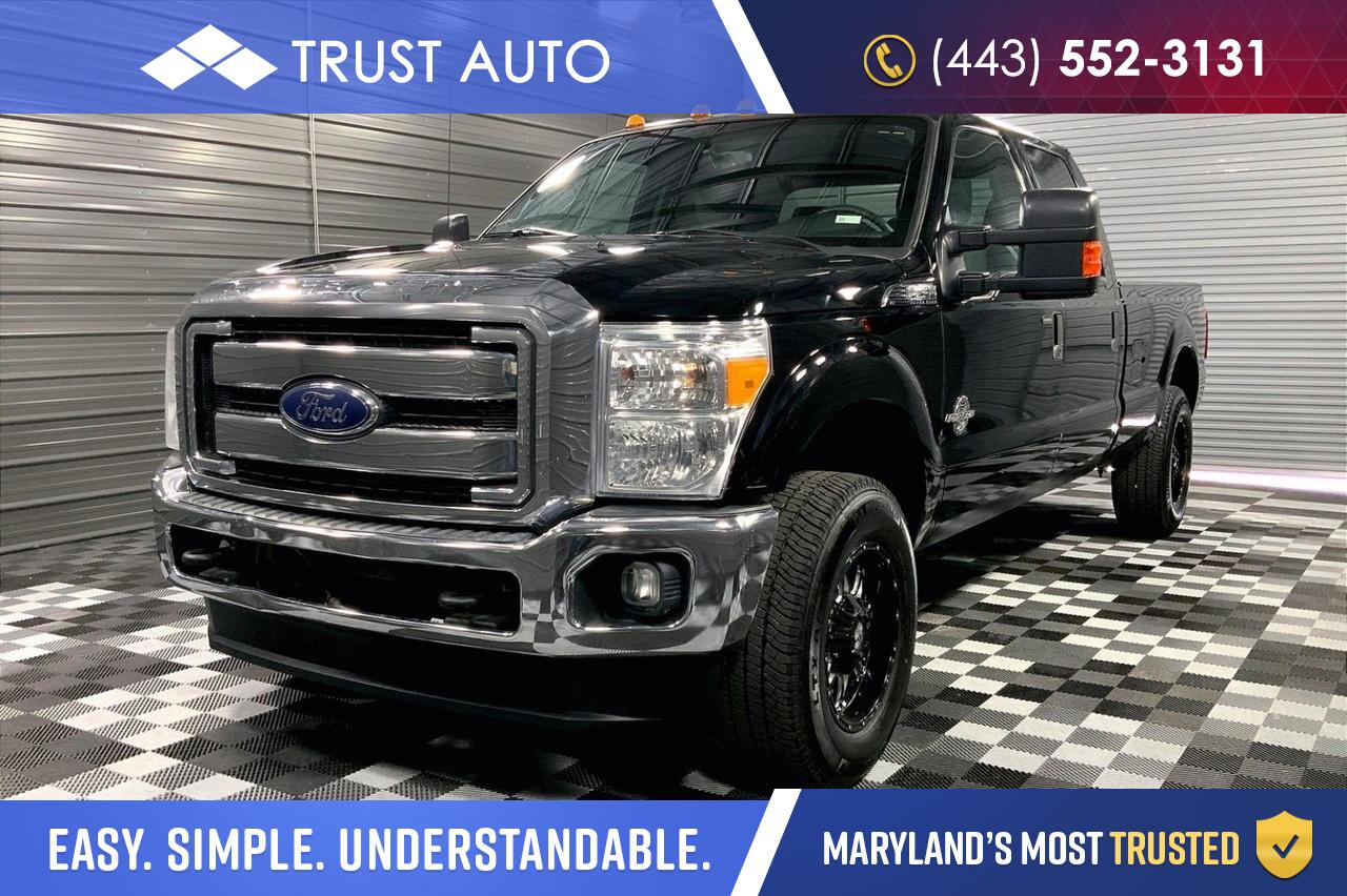 2016 Ford Super Duty F-250 8.2Ft Long Bed w/FX4 Off Road package V8 Turbo Diesel XLT Sykesville MD