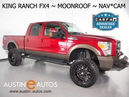 2016_Ford_Super Duty F-250 SRW King Ranch 4WD_*FX4 PKG, NAVIGATION, BACKUP-CAMERA, TOUCH SCREEN, LEATHER, MOONROOF, SONY AUDIO, CLIMATE SEATS, BLUETOOTH PHONE & AUDIO_ Round Rock TX