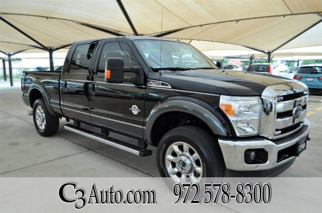 2016 Ford Super Duty F-250 SRW Lariat 4WD!! 1-Owner!! C3 Certified!!! Like New!!! Plano TX