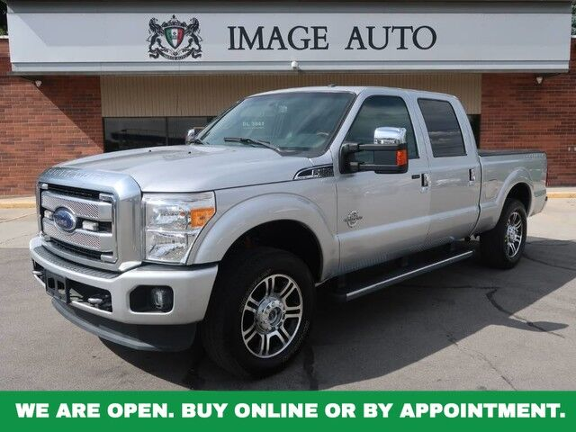 2016 Ford Super Duty F-250 SRW Platinum West Jordan UT