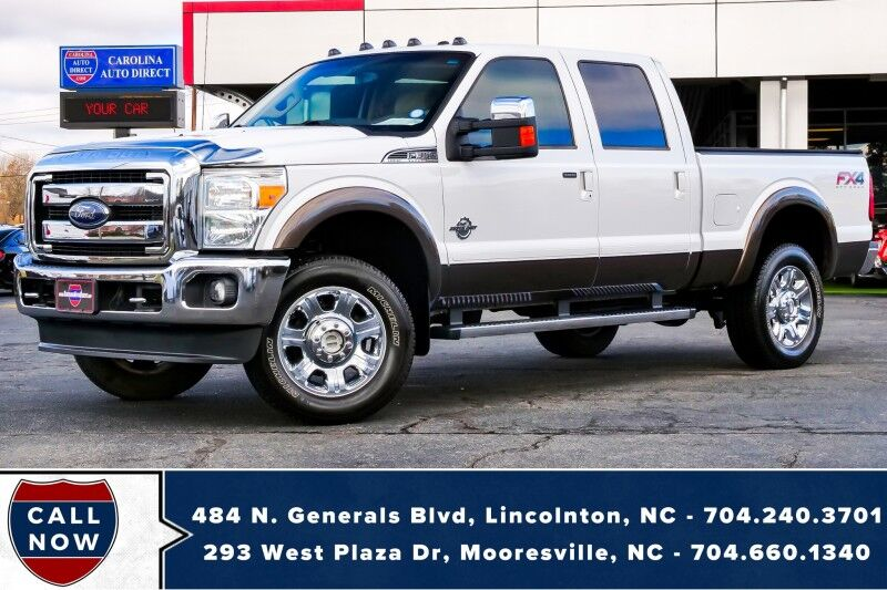 2016 Ford Super Duty F-350 Lariat FX4 *High Output 6.2L HD Boss* Mooresville NC