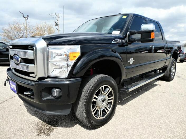 2016 Ford Super Duty F-350 SRW Platinum | Cooled Seats | Navigation | Remote Start Essex ON