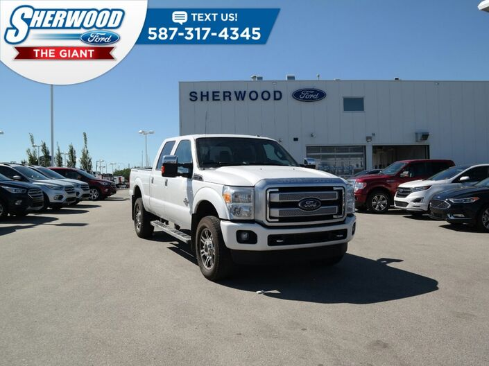 2016 Ford Super Duty F-350 SRW Platinum Sherwood Park AB
