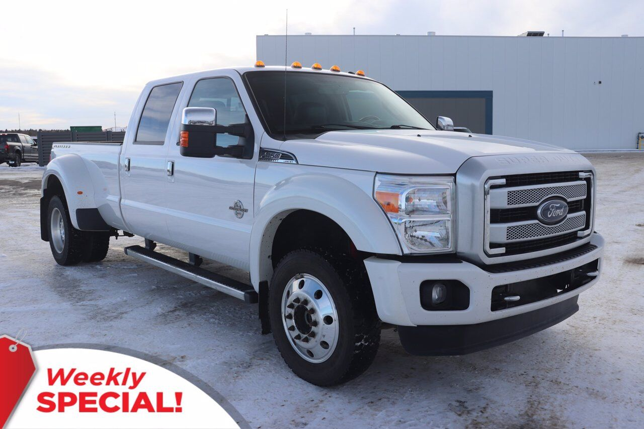 2016 Ford Super Duty F-450 DRW Platinum Sherwood Park AB