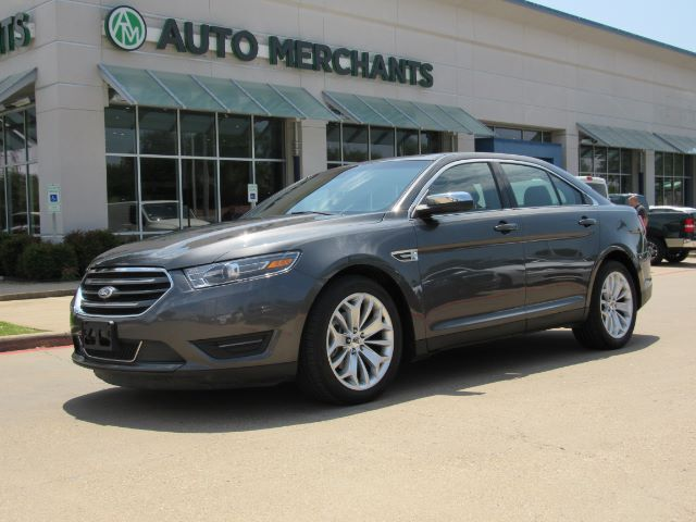 2016 Ford Taurus Limited FWD SUNROOF, HTD/COOLED STS, BLUETOOTH, BACKUP CAM, SAT RADIO, LEATHER, PARK AID, USB INPUT Plano TX
