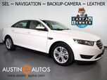 2016 Ford Taurus SEL *NAVIGATION, BACKUP-CAMERA, COLOR TOUCH SCREEN, LEATHER, HEATED SEATS, PUSH BUTTON START, REMOTE START, BLUETOOTH PHONE & AUDIO
