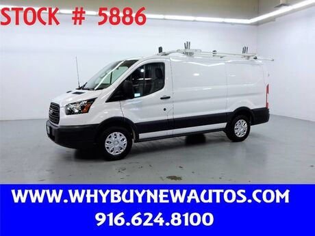 2016 Ford Transit 150 ~ Dual Fold-down Ladder Rack ~ Only 34K Miles! Rocklin CA