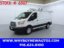 2016_Ford_Transit 150_~ Dual Fold-down Ladder Rack & Shelves ~ Only 66K Miles!_ Rocklin CA
