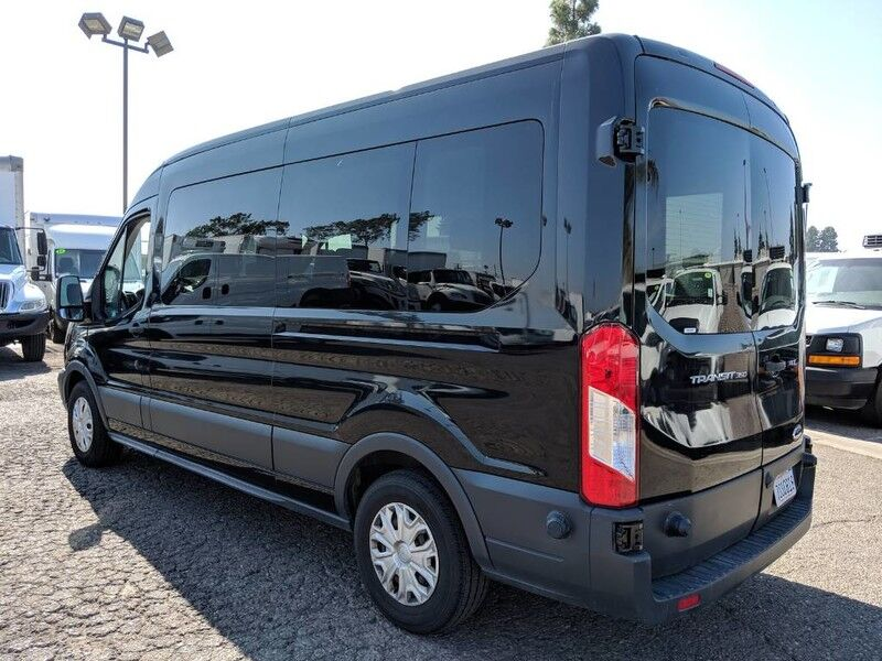 2016 ford transit 350 extended mid roof passenger van fountain valley ca 26656572. Black Bedroom Furniture Sets. Home Design Ideas
