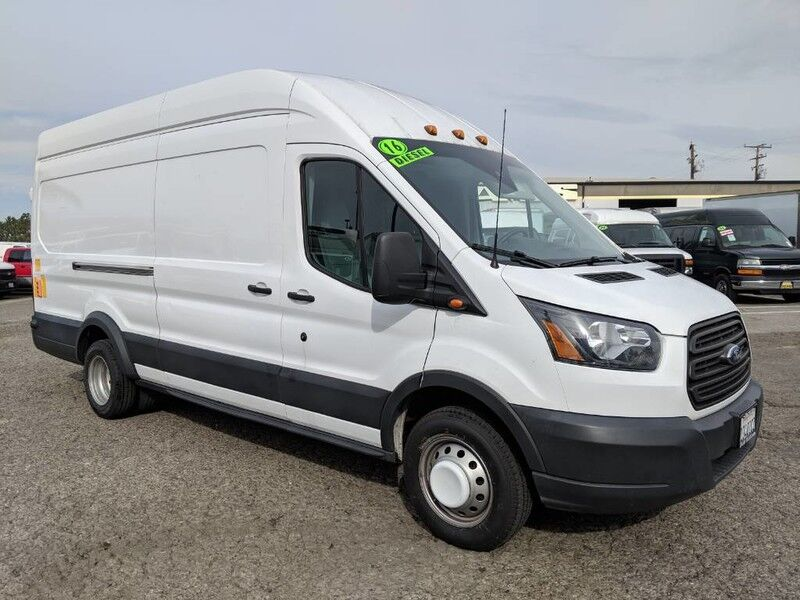 2016 Ford Transit 350 High Roof Extended Long Cargo Van With