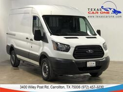 2016_Ford_Transit Cargo Van_T-250 VAN MED ROOF SLIDE AUTOMATIC REAR CAMERA LEATHER SEATS_ Carrollton TX