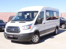 2016_Ford_Transit Wagon_350 PASSENGER VAN XLT MEDIUM ROOF 3.5L V6 ECOBOOST REAR CAMERA BLUETOOTH KE_ Carrollton TX