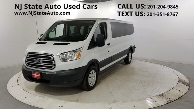 "2016 Ford Transit Wagon T-350 148"" Low Roof XLT Swing-Out RH Dr Jersey City NJ"