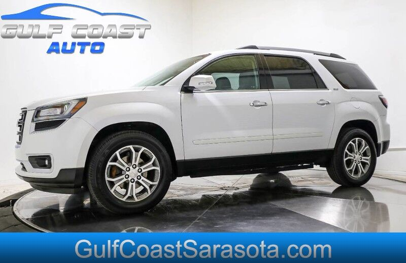 2016 GMC ACADIA SLT LEATHER 3RD ROW SEAT LOW MILES COLD AC Sarasota FL