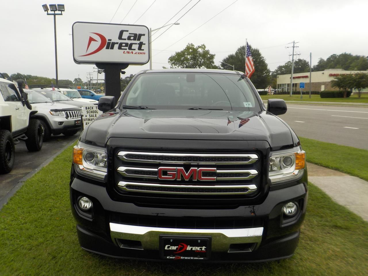 2016 GMC CANYON ALL TERRAIN CREW CAB 4X4, WARRANTY, NAVIGATION, HEATED SEATS, BLUETOOTH, REVERSE CAMERA, TOW PACKAGE