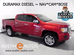 2016_GMC_Canyon SLT Duramax Turbo-Diesel_*NAVIGATION, BACKUP-CAMERA, LEATHER, HEATED SEATS, TOUCH SCREEN, BOSE, BLUETOOTH_ Round Rock TX