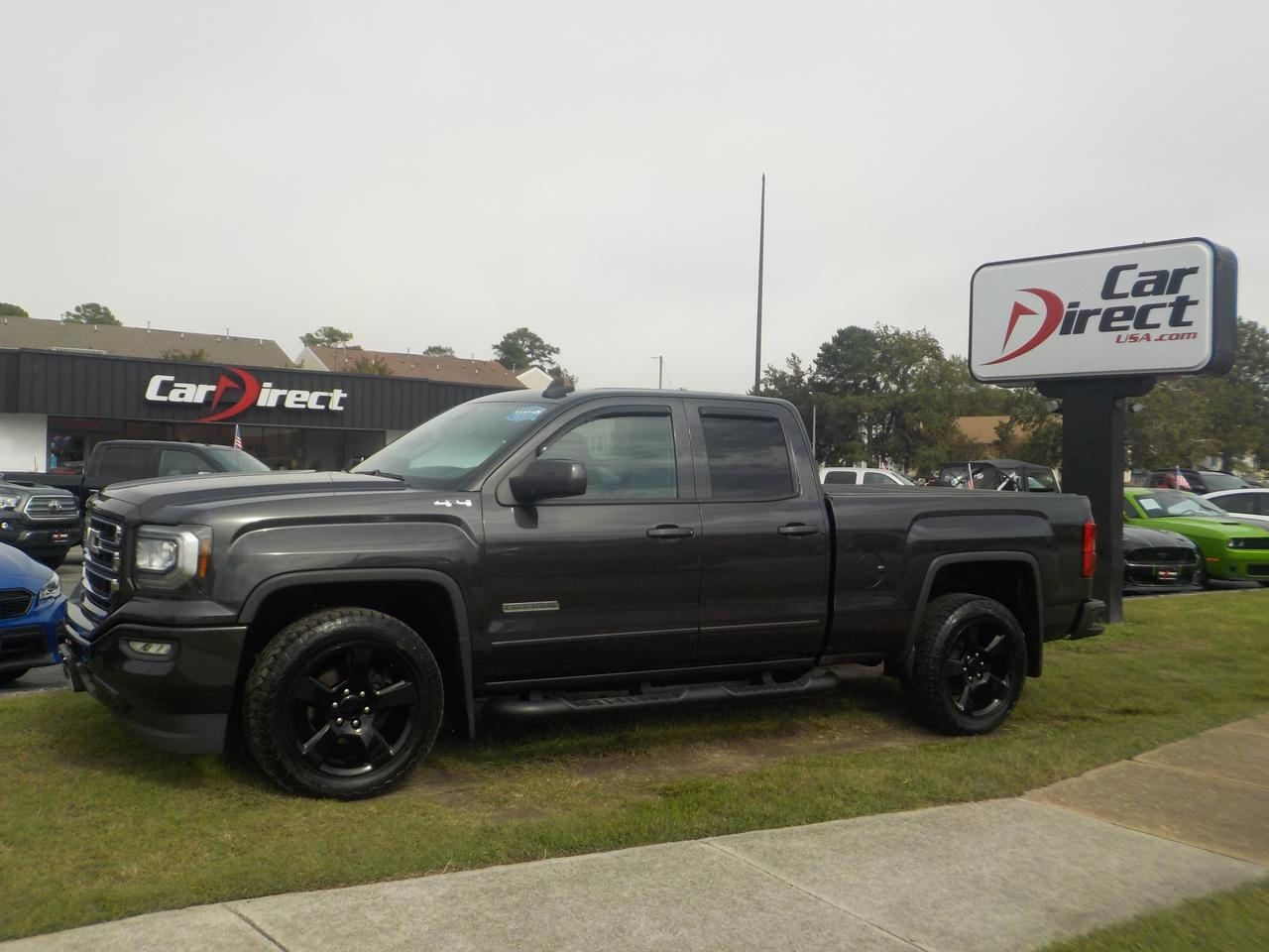 2016 GMC SIERRA 1500 DOUBLE CAB ELEVATION 4X4, ONE OWNER, HARD TONNEAU COVER, RUNNING BOARDS, BLUETOOTH, BACKUP CAM! Virginia Beach VA