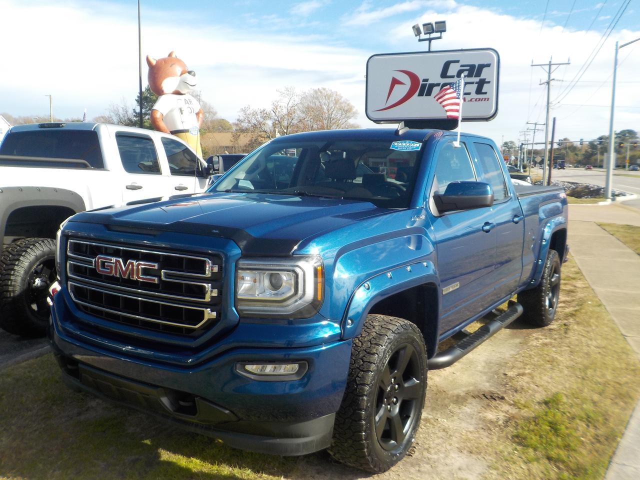 2016 GMC SIERRA 1500 ELEVATION DOUBLE CAB 4X4, BLUETOOTH WIRELESS, TOW PKG, BACKUP CAM, VERY CLEAN, ONLY 68K MILES! Virginia Beach VA